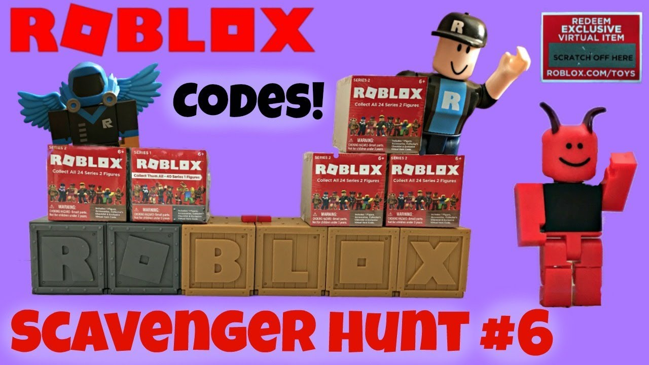 Roblox Toys, Codes, Blind Boxes, Scavenger Hunt No. 6 # ...