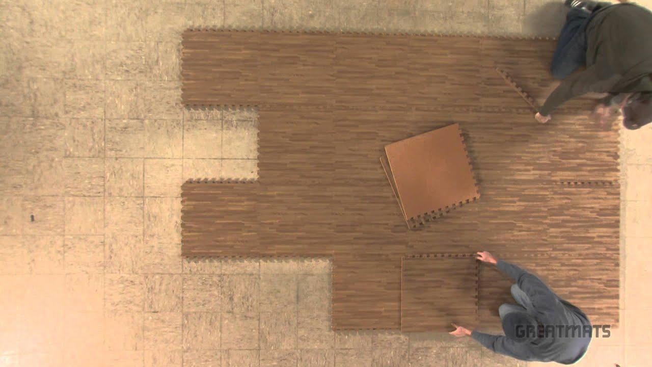 Sequence Wood Grain Foam Tiles 3