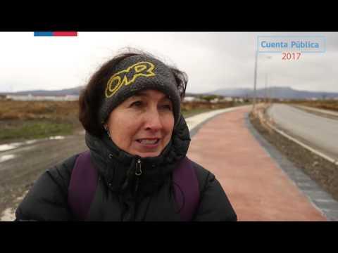 Red de Ciclovías Puerto Natales región de Magallanes