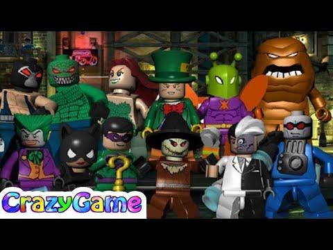 LEGO #Batman The Videogame Villains Complete Walkthrough 2 Hour ...