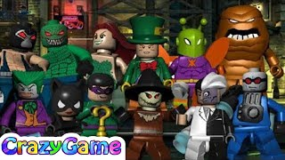 #LEGO #Batman The Videogame Villains Complete Walkthrough 2 Hour - LEGO Game for Children & Kids