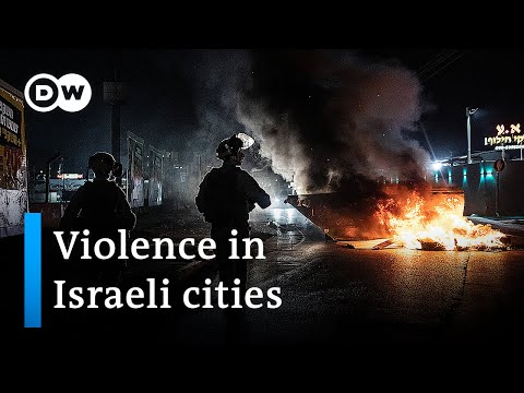 Israeli cities are facing increasing incidents of mob violence   DW News