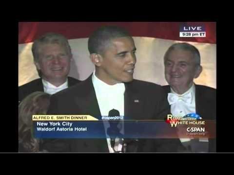 Obama Joke Analysis From Alfred E. Smith Dinner