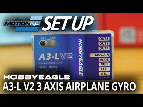 Eagle A3-L V2 3 Axis Airplane Gyro