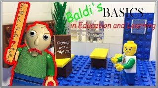 LEGO Мультфильм Baldi /  Baldi's Basics in Education and Learning / LEGO Stop Motion