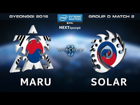 StarCraft 2 - Maru vs. Solar [TvZ] - Group D Match 2 - IEM G
