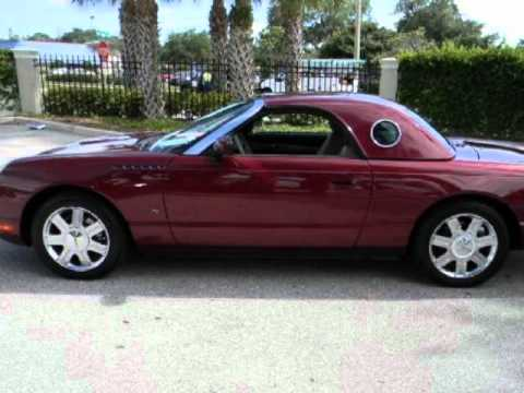 2004 Ford Thunderbird Hard And Soft Top Convertible Fl