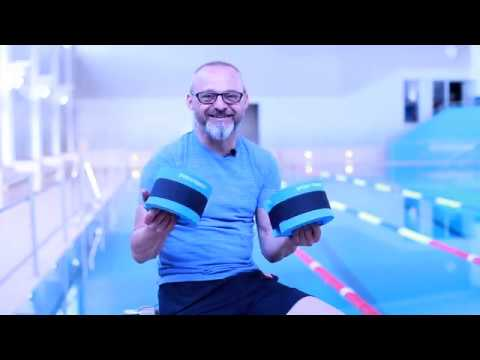 "Video: Sport-Thieme® Aqua-Fitness Manschetten ""Light"""