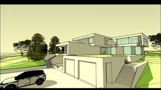 Дом у озера - стильный архитектурный проект и качественное исполнение в экологическом заповеднике.