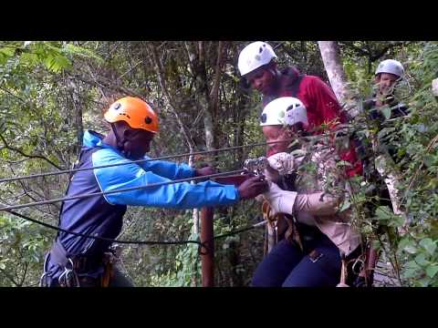 Cable Slide Canopy tours Kilima Game Lodge Limpopo Polokwane