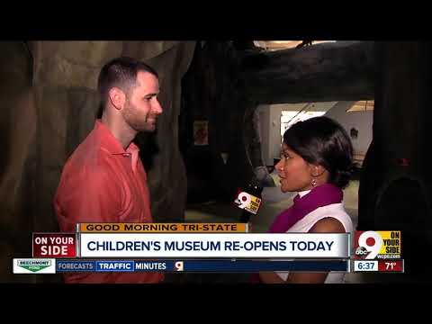 Children's Museum reopens at Cincinnati Museum Center