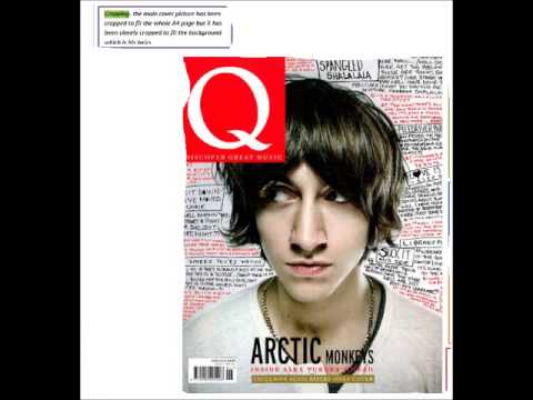 Q magazine cover video
