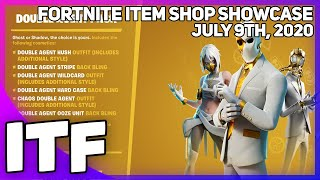 Fortnite Item Shop *NEW* DOUBLE AGENT PACK! [July 9th, 2020] (Fortnite Battle Royale)