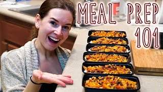 Meal Prep 101 🌮 How to Meal Prep for Beginners, for Weight Loss, Muscle Gain & on a Budget!