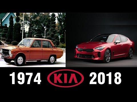 The Evolution Of KIA (1974-2018)   KIA EVOLUTION