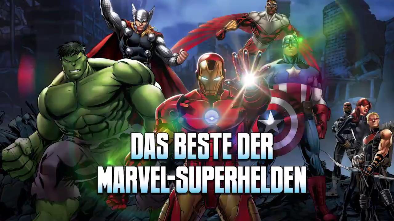 Marvel Superhelden Sammlung