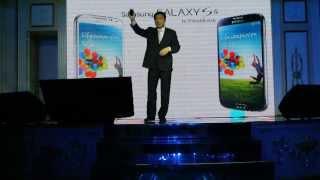 Приветственная речь президента Samsung Kazakhstan г-на Сонг Сык Чой