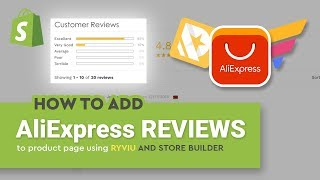 [Ryviu + GemPages] How to add AliExpress reviews to product page using Ryviu app and a store builder