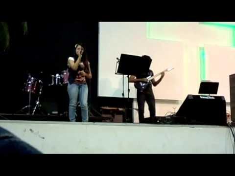 Janielly Zaidan - A tua palavra escondi - Cassiane
