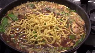 Simple And Easy Spicy Noodle Soup