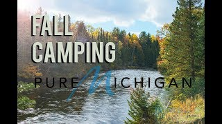 Fall Camping Michigan