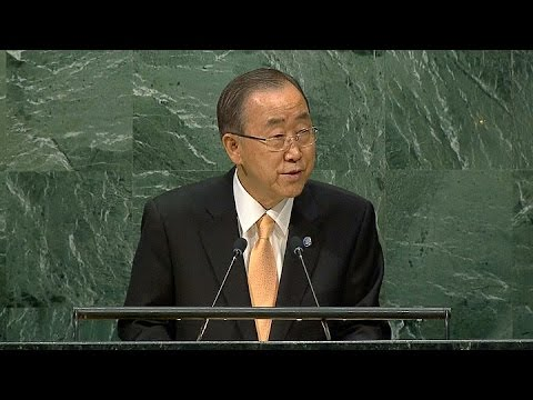 El titualr de la ONU Ban Ki Moon denunció la escalada de la guerra civil en Siria