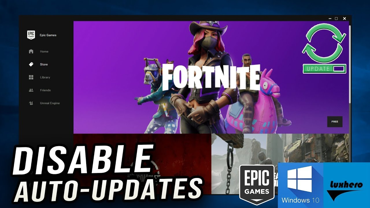 Fortnite Season 7 - How to Disable Auto-Updates (New Epic ...