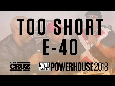 E-40 x TOO SHORT Brought Out By Lil Jon at Powerhouse, Both Plan to drop 3 Albums Each This Year!