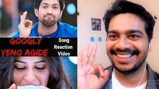 Yeno Agide Full Song REACTION Video | Googly | ash | Kriti Kharbhanda | Oye Pk | Kannada Movie |