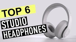 BEST 6: Studio Headphones 2018