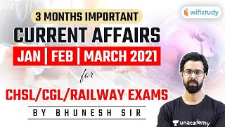 SSC/Railway Exams 2021 | 3 Months Important Current Affairs by Bhunesh Sharma screenshot 5