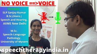 SLP Sanjay Kumar: Pre-Post Functional Aphonia Voice Therapy | Within 8 Days | A Best Voice Clinic