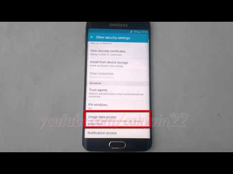 Android Lollipop : How to Enable or disable Google Play Store Usages Data Access