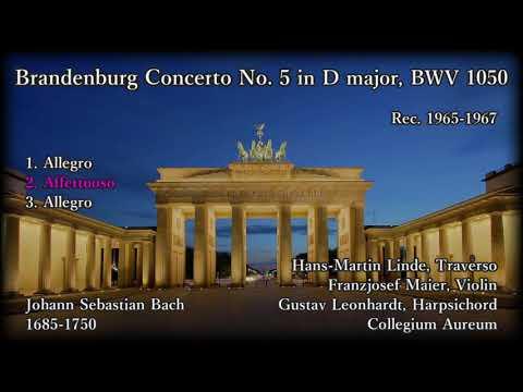 Bach: Brandenburg Concerto No. 5, Collegium Aureum (1965-67) バッハ ブランデンブルク協奏曲第5番 コレギウム・アウレウム