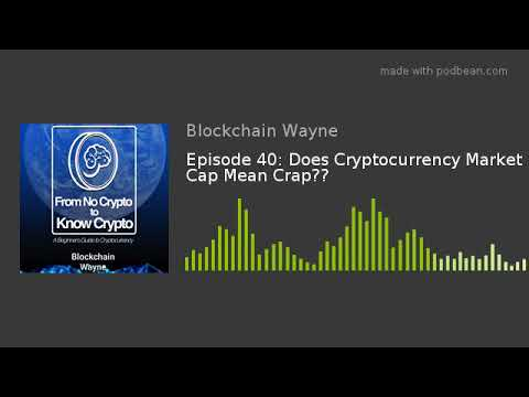 what does market cap mean in cryptocurrency
