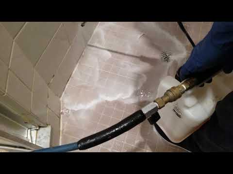 Deep Shower Tile and grout Cleaning Orlando, Champions Gate Fl