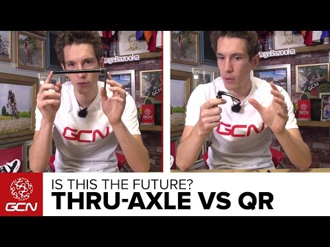 Thru-Axle Vs Quick Release – Is This The Future For Road Bikes?