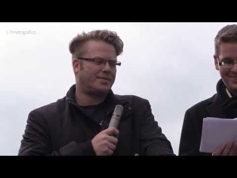 AfD-Demo Freilassing: Rede von Florian Jäger