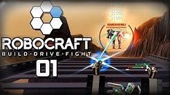 Robocraft - #01 - Wir schauen es uns noch einmal an!