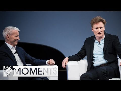 Cannes Moments: Anderson Cooper talks to Conan O'Brien about Gaming and his Crush on Lara Croft
