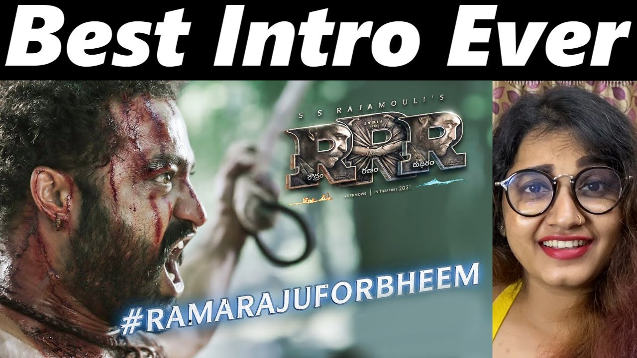 Malayali Reaction to Ramaraju For Bheem - Bheem Intro - RRR | NTR