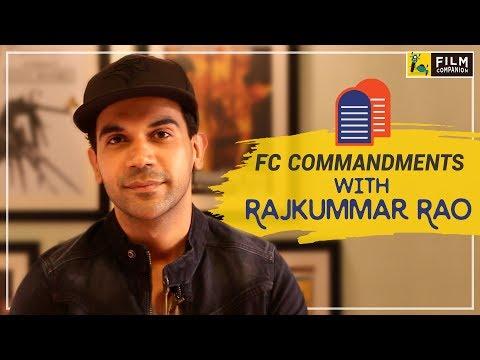 Rajkummar Rao | FC Commandments