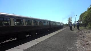 Castles to Scotland GWR Castle Class no. 5043 EARL OF MOUNT EDGCUMBE 27.05.12