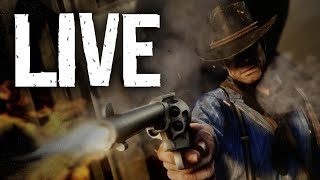 Red Dead Redemption 2 [LIVE/PS4 PRO] - Open World Stuff & Exploring