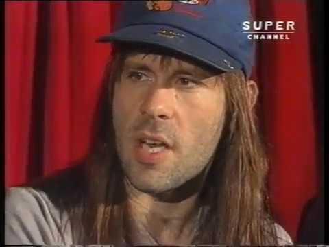 Iron Maiden interview 1992