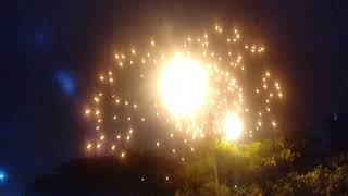 S M S Firework Spectacular show Happy New year eve 2020 Celebration