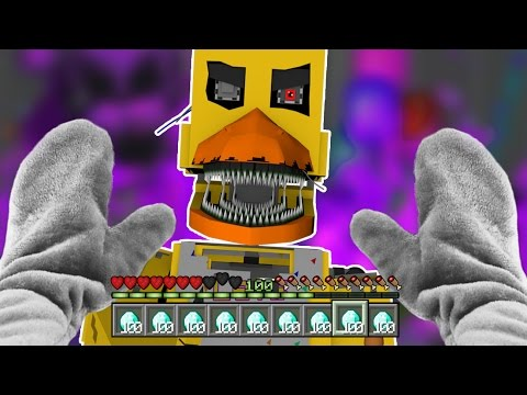 Realistic Minecraft - BECOMING FNAF FUNTIME FOXY !? - (Minecraft Roleplay)