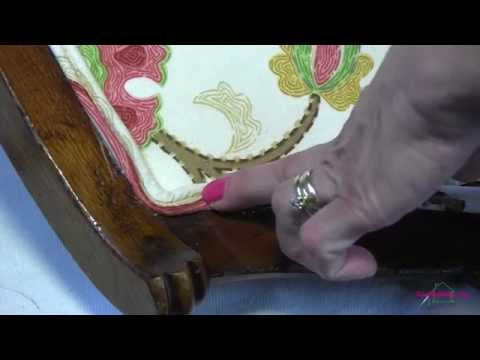 Upholstery Sewing and Installing Double Cording