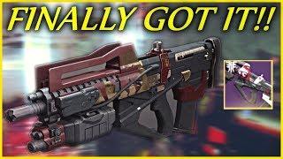 I FINALLY Earned The Redrix Broadsword!! (Redrix Broadsword Pulse Rifle - Destiny 2)