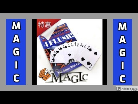 MAGIC TRICKS VIDEOS IN TAMIL #229 I 4 FLUSH @Magic Vijay